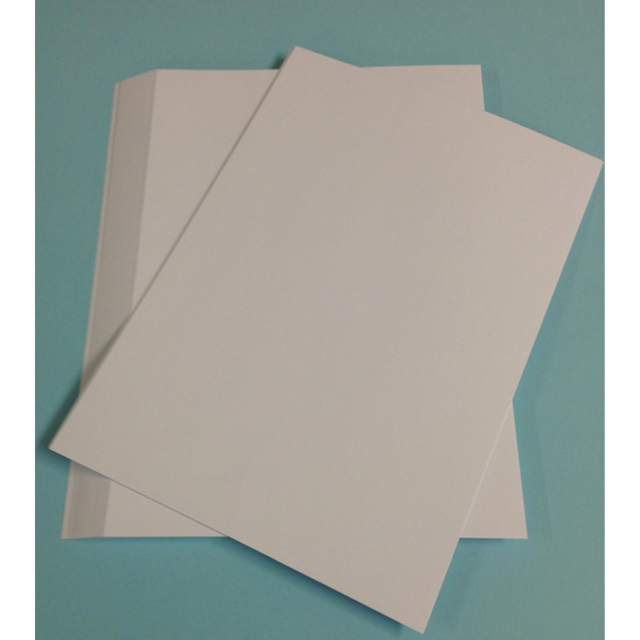 1000 A4 WHITE SHEETS Smooth Silk Craft Card Stock 250gsm