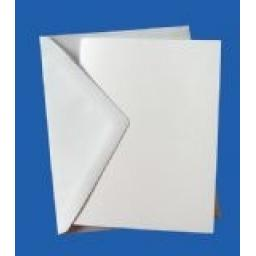 A4 (Folds To A5) Pre Scored 250gsm 300gsm 350gsm 400gsm Card Blanks and Envelopes