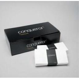 C6 Conqueror High White Laid (textured) Envelopes