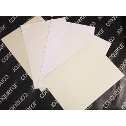 Conqueror 300gsm A4 Card. Choice Of Colours available.