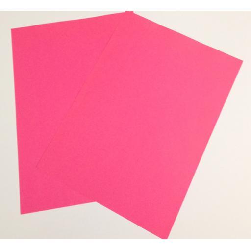 A4 Fluorescent Pink paper