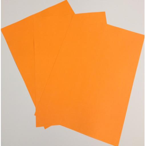 A4 Fluorescent Orange paper