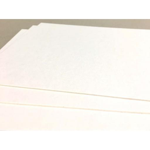 A5 (148mm x 210mm) Off White Mounting / Backing Board