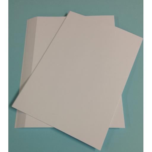 Zoe's 300gsm Smooth White 8x10 Craft Card