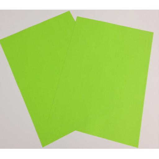A4 Fluorescent Green paper