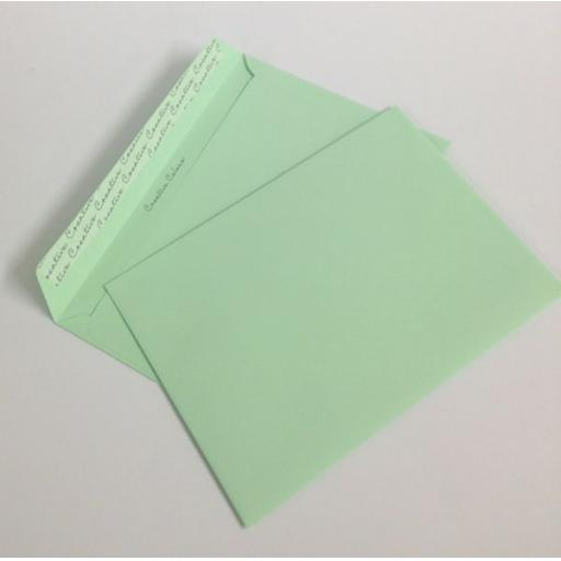 120gsm Pastel Green C5 Envelopes
