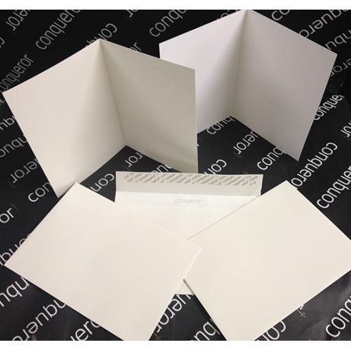 A4 fold to A5 Pre Scored Conqueror 300gsm Card