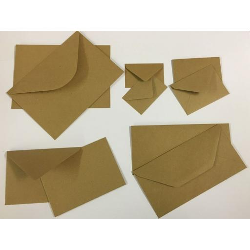 Brown Natural Kraft Envelopes