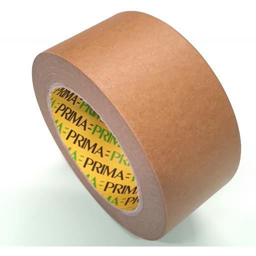 Eco Friendly Brown Kraft Tape / Paper Packaging Tape / Picture Framing Tape