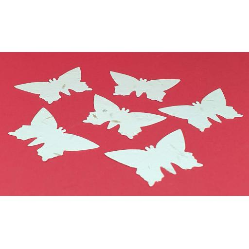 Plantable Seeded Die Cut Butterflies, Wedding Favours, Funeral Favours