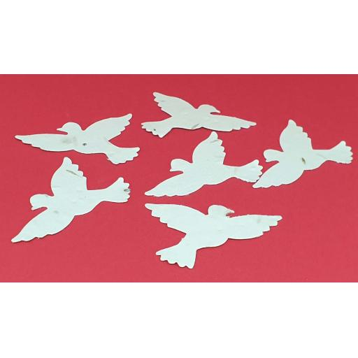 Plantable Seeded Die Cut Doves, Wedding Favours, Funeral Favours