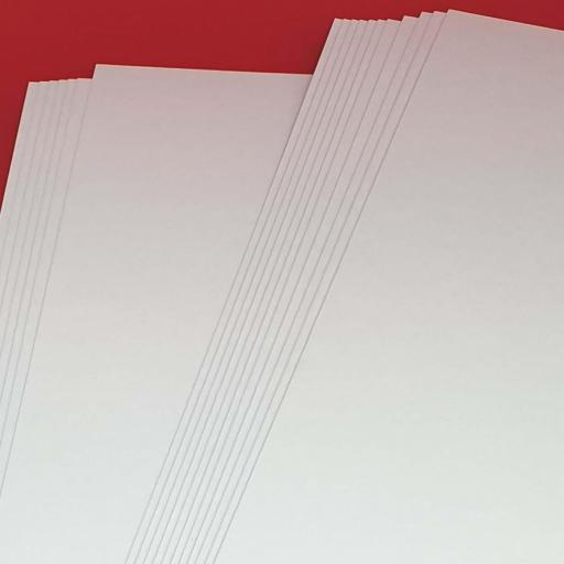 500gsm Smooth White A4 Craft Card / Heavy Cardstock