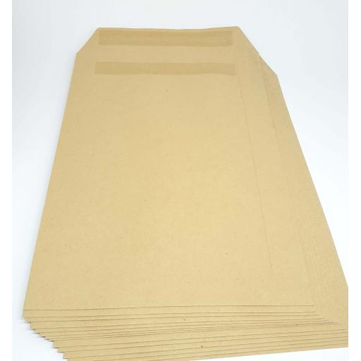 500 x 80gsm Manilla Non Window Self-seal C5 Envelopes
