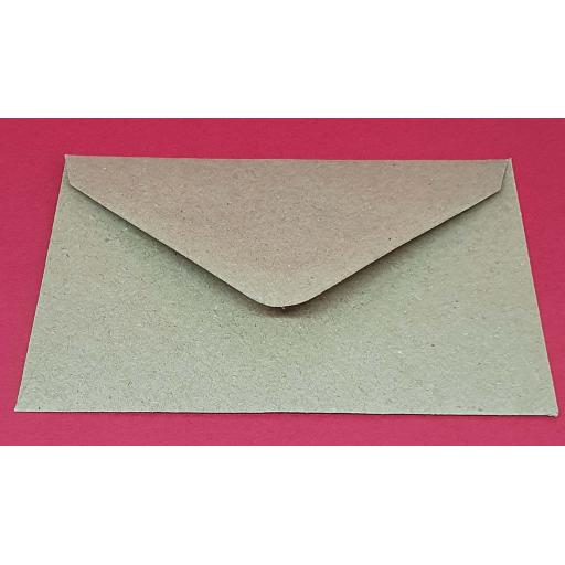 DL Natural Brown Kraft Fleck Envelopes