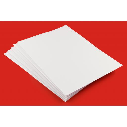 160gsm Smooth White A5 Thin Craft Card