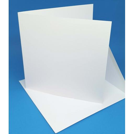 148mm Square 250gsm Pre Scored Card and Envelopes