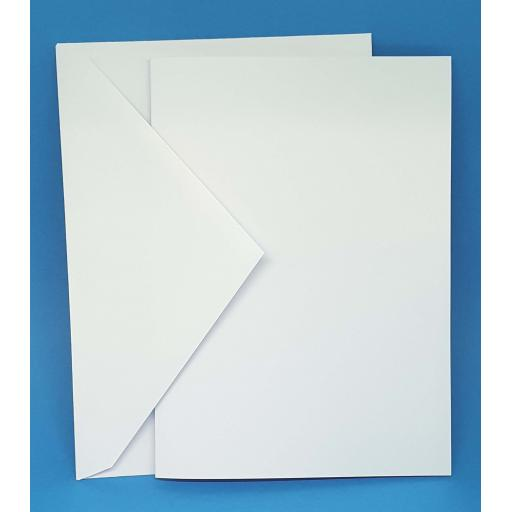 300gsm A5 Pre Scored Card and Envelopes