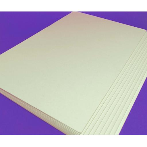 A6 Off White Mounting / Backing Board