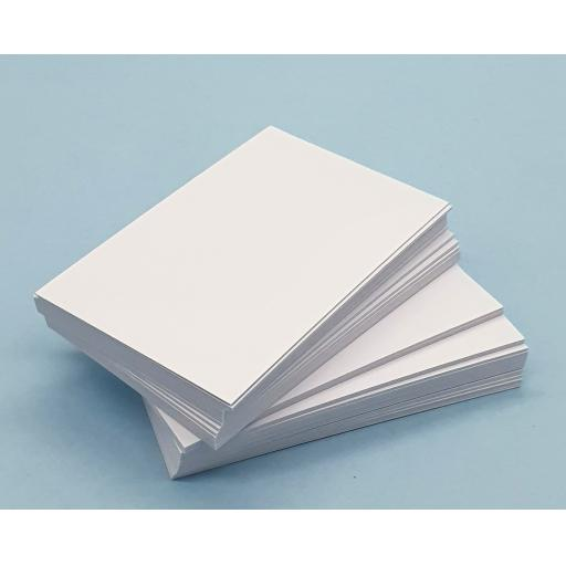 White Business Card Blanks 350gsm/ 300gsm
