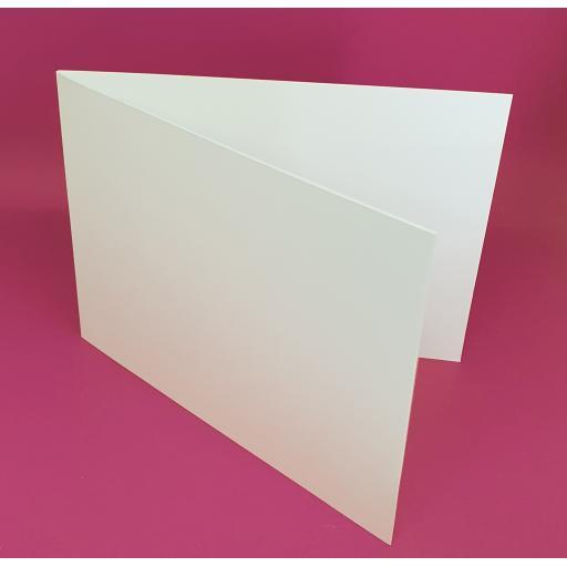 300gsm A6 Landscape Scored Card Blanks